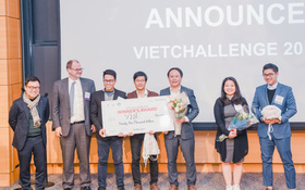 Startup của quán quân Đường lên đỉnh Olympia chiến thắng cuộc thi khởi nghiệp toàn cầu