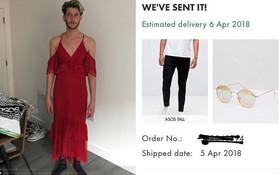 Bạn sẽ cười hay khóc nếu mua hàng online và nhận được đồ giống anh chàng này?