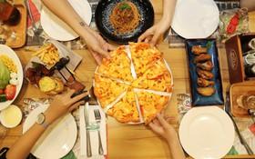 Pizza Viền Tôm Nướng thả ga với giá giảm chỉ còn 50% nhân dịp sinh nhật The Pizza Company