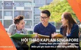Gặp gỡ trực tiếp đại diện học viện Kaplan tại hội thảo du học Singapore