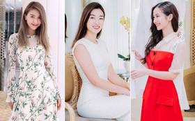 """Đỗ Mỹ Linh, Jun Vũ, Quỳnh Anh Shyn cùng loạt sao tất bật """"lên đồ"""", chuẩn bị đọ sắc tại show của NTK Công Trí"""