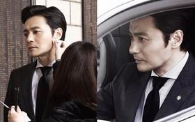 Choáng với ảnh hậu trường của tài tử Jang Dong Gun: Có ai da nhăn nheo nhưng vẫn đẹp cực phẩm như thế này?
