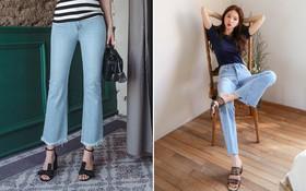 """4 lưu ý giúp bạn diện quần jeans ống vẩy """"max đẹp"""""""