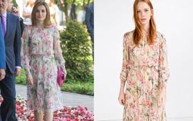 Trang phục giúp Hoàng hậu Letizia tỏa sáng không thể thiếu những món đồ đến từ thương hiệu Zara
