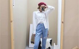 Sơmi trắng đơn giản là vậy, nhưng có tới tận 15 cách kết hợp giúp bạn mặc cả tuần không chán