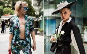 """Street style ngày đầu VIFW 2018: các tín đồ thời trang Sài thành lên đồ """"quằn quại"""" đốt mắt người nhìn"""