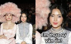 """Ai cũng thương Châu Bùi phải """"húp trọn"""" chiếc mũ lông của Angela Phương Trinh, nhưng xin đừng lo, Châu ổn!"""