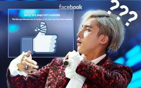 Trang cá nhân và fanpage hơn 10 triệu người hâm mộ của Sơn Tùng M-TP bất ngờ biến mất khỏi facebook