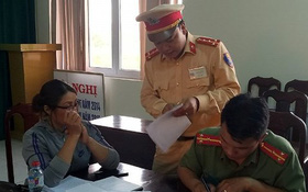 Đắk Lắk: Vi phạm giao thông còn quay phim để vu khống CSGT