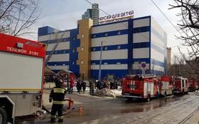 Cháy trung tâm mua sắm tại Moskva: Một người thiệt mạng