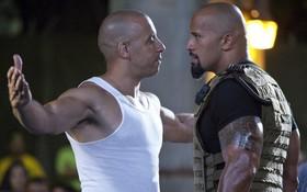 """Quá mâu thuẫn, The Rock không quay cảnh nào chung với Vin Diesel trong """"Fast and Furious"""""""