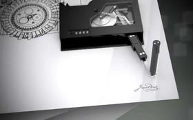 Máy ký tên tự động bắt chước được tất cả mọi kiểu chữ ký, phức tạp đến mấy cũng nhái thành công