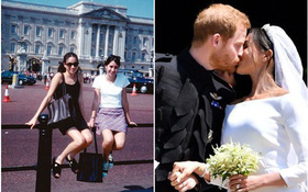 Lục lại ảnh cũ của tân công nương, cư dân mạng tin rằng đám cưới cổ tích của Meghan và Harry là định mệnh