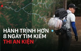 Infographic: Diễn biến hành trình hơn 8 ngày tìm kiếm phượt thủ mất tích ở Tà Năng - Phan Dũng
