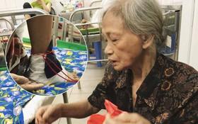 Nạn nhân bị ô tô kéo lê hàng trăm mét ở Hà Nội sau gần 2 tháng: Mẹ già đau đớn buộc chân con trai vào mép giường bệnh