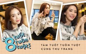 """""""Tám tuốt tuồn tuột"""": Sẵn sàng nhường danh hiệu Hoa hậu nhưng Thu Trang vẫn không quên """"dằn mặt"""" Diệu Nhi, PuKa và Khả Như"""