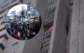 Cháy lớn tại tầng 18 chung cư cao tầng ở Hà Nội, hàng trăm hộ dân phải sơ tán khẩn cấp