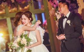 Tròn 10 năm tủi hờn vì scandal ảnh sex, Chung Hân Đồng khóc như mưa trong hôn lễ đẹp như cổ tích của mình