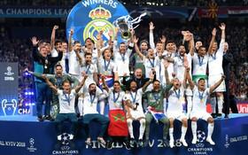 Real Madrid lập siêu kỷ lục, vô địch Champions League mùa thứ 3 liên tiếp