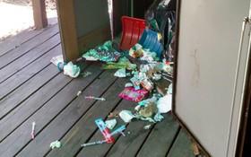 Tin vào quảng cáo trên mạng, du học sinh Việt thuê được căn nhà toàn rác và kim tiêm đã sử dụng