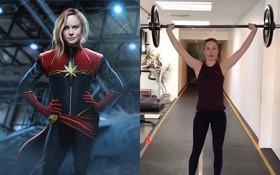 """""""Captain Marvel"""" Brie Larson tập luyện vất vả dù còn cả năm nữa mới đến ngày """"chào sân"""""""