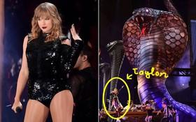 Taylor Swift chính thức khởi động tour diễn khủng: Rắn to, rắn bé, rắn khắp mọi nơi!