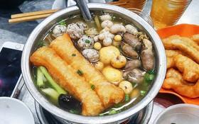 """Một loạt món ăn từ """"nội tạng"""" vừa lạ vừa quen ở Hà Nội quá thích hợp cho tiết trời đang nóng thì đổ mưa"""