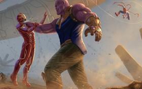 """Thuyết âm mưu """"Avengers 4"""": Hoá ra với Thanos, tỉ phú Tony Stark chẳng phải """"người dưng ngược lối""""!"""