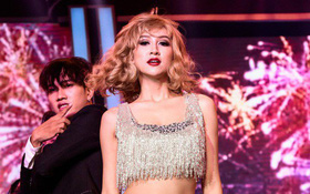 """Tuyên bố """"sợ rap hay hơn Taylor Swift"""", Á hậu Hà Thu nhận lượt dislike khủng tại """"Gương mặt thân quen"""""""