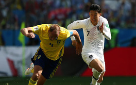 TRỰC TIẾP (H2) Thụy Điển 0-0 Hàn Quốc: Son Heung-min bị khoá chặt