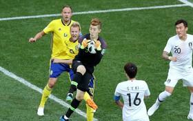 TRỰC TIẾP (H2) Thụy Điển 0-0 Hàn Quốc: Thủ môn Hàn 2 lần cứu thua xuất sắc