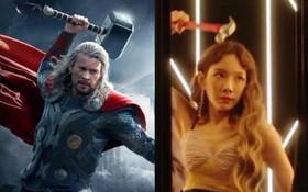 Quá thích Thor nên Taeyeon thoát khỏi hình tượng bánh bèo, cầm búa làm Thoryeon trong MV mới?