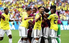 TRỰC TIẾP ( hết H1) Colombia 1-1 Nhật Bản: Quintero sút phạt tinh quái gỡ hòa