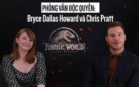 """Clip độc quyền: Chris Pratt tự nhận phát ớn vì """"mặt thộn"""" và thói mặc quần bó của chàng HLV khủng long"""