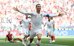 Ronaldo lại đóng vai người hùng, Bồ Đào Nha tiễn Morocco về nước