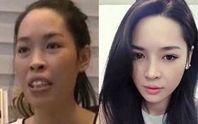 """""""Hot girl PTTM"""" Vũ Thanh Quỳnh trông như thế nào sau 3 năm dao kéo?"""