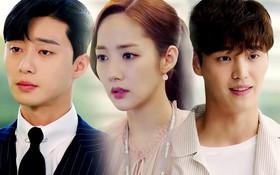 """""""Thư Ký Kim"""" bắt đầu tréo ngoe: Park Min Young hiểu lầm cực tai hại về quá khứ định mệnh của mình"""