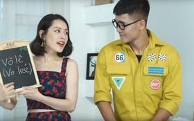 """Chi Pu tung tuyệt chiêu đố thuật ngữ bóng đá khiến Đức Chinh """"hãi"""" đến toát mồ hôi hột"""