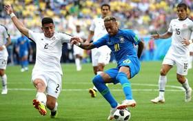 """TRỰC TIẾP (H2) Brazil 0-0 Costa Rica: """"Vũ công"""" Samba bế tắc"""