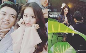 Hé lộ loạt hình ảnh hot Soobin Hoàng Sơn đang quay MV mới cùng Jiyeon ở Hàn Quốc