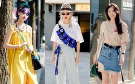 """Toàn đồ đơn giản nhưng lại có những cú """"twist"""" chẳng ai nghĩ ra, street style của giới trẻ Hàn sẽ khiến bạn phục sát đất"""
