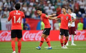 Hàn Quốc chia tay World Cup 2018 nhưng để lại hình ảnh đẹp với lối chơi nhiệt huyết, chiến đấu đến cùng