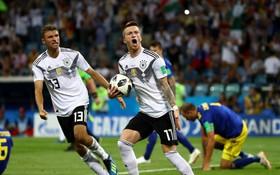 TRỰC TIẾP (H2) Đức 1-1 Thụy Điển: Marco Reus bỏ lỡ cơ hội ghi bàn thắng thứ 2