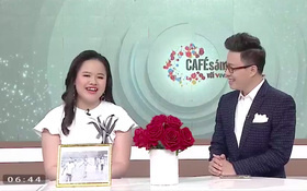 """Lần đầu tiên MC của chương trình """"Cafe sáng với VTV3"""" là một cô bạn khiếm thị"""