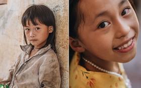 Ánh mắt kiên cường và nụ cười hồn nhiên của trẻ em Hà Giang sau trận lũ đau thương khiến 5 người chết, hàng trăm ngôi nhà đổ nát