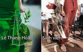 """Bị sinh viên tố """"ăn cắp"""" thiết kế phụ kiện trong BST mới nhất, NTK Lê Thanh Hòa lập tức phản pháo"""