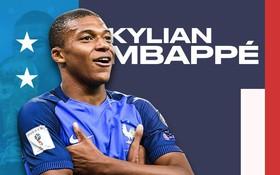 Năm 2018, trên vũ đài World Cup, Mbappe chính thức bước ra ánh sáng