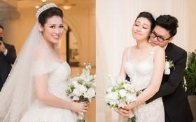 Thay tới 3 chiếc váy cưới trong ngày trọng đại nhưng lại có 1 chiếc không thực sự hợp với Á hậu Tú Anh