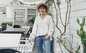 """Mũ cói chống nắng được các quý cô Châu Á sử dụng làm phụ kiện """"sống ảo"""" trong street style tuần này"""