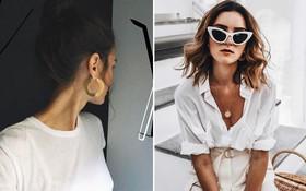 Mặc áo trắng, bạn hãy diện thêm 1 trong 5 món phụ kiện này để trông sang chảnh, phong cách hơn tức thì